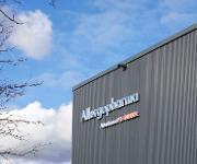 Produktionsgebäude von Allergopharma