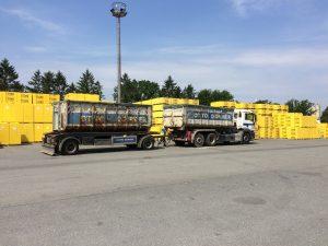 Erstmals wurden im Ytong Werk in Wedel Rückbaumaterialien aus Porenbeton, die vom Hamburger Entsorgungsunternehmen Otto Dörner Entsorgung GmbH aussortiert wurden, dem regulären Produktionsprozess wieder zu geführt.