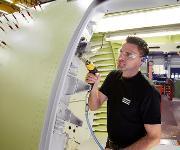Bohrmaschine für den Flugzeugbau