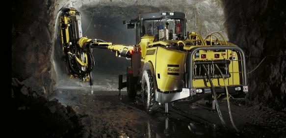 Bau- und Bergbaugeschäft Atlas Copco Epiroc