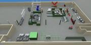 Anlagenplanung in 3D: Fabrikhallen digital einrichten