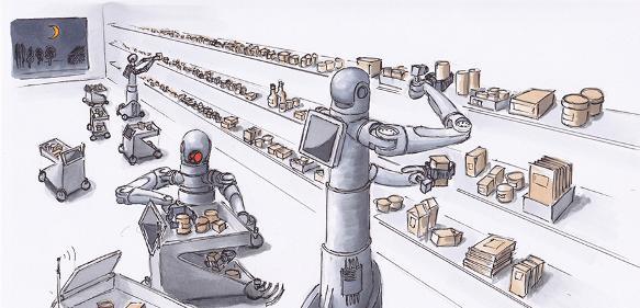 Automatica-shopping-robots
