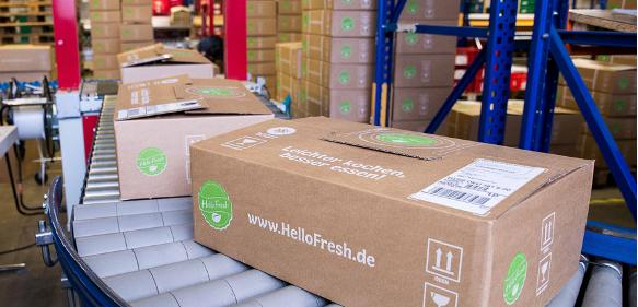 B+S Logistik Hello Fresh