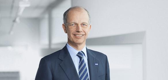 """BASF-Vorstandsvorsitzender Dr. Kurt Bock: """"Im Laufe des Jahres ist es uns gelungen, das Wachstum der BASF zu steigern."""""""