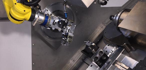 Roboterzelle Benzinger