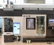 Das Doppeldrehzentrum Okuma LT2000 ist perfekt für die Bearbeitung komplexer Werkstücke von mittleren bis großen Losgrößen geeignet.