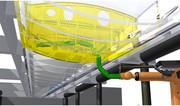 """Bionischer """"Snake-Roboter"""" für die Flugzeugmontage: So ein Flügel-Kriecher"""
