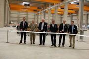 Eröffnung der neuen Montagehallen