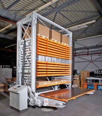 Kompaktlager: Bis sieben Meter