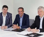 Marc Burmeister, Lutz Burmeister und Frank Labohm