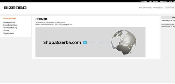 Wäge- und Schneidetechnologie: Bizerba startet Online-Shop für Deutschland