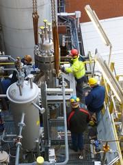 Blasensäulen im Auftrieb: Einer der wichtigsten Reaktortypen der Chemieindustrie wird effizienter