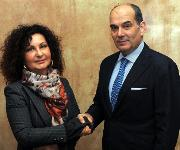 Sonia Bonfiglioli und Enrico Carraro