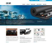 CEFEP-Webseite