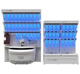 Analytica 2018 – Halle A1, Stand 210: Mikrowellenbeschleunigte Peptid-Synthese der 3. Generation
