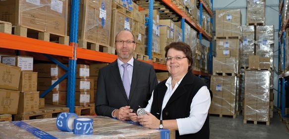 CTX stockt das Lager auf: Kapazitäten verdoppelt