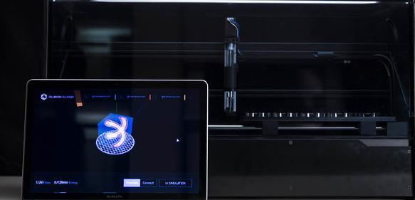 Cellbricks entwickelt eine neue Bioprinting-Technologie, die das dreidimensionale Drucken von komplexen biologischen Materialien ermöglicht.