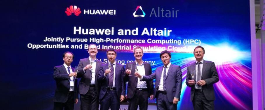 HPC: Huawei und Altair wollen kooperieren