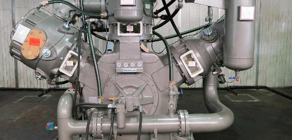PET-Kompressor Marke Belliss & Morcom