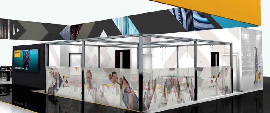 Continental-Messestand