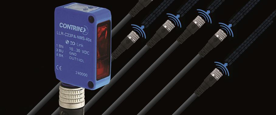 Industrie 4.0-fähige Sensoren von Contrinex: Kommunikation aus der Ferne