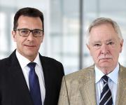 Klaus Böhmer und Peter Heimlicher