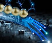 Wissenschaftler des Helmholtz-Zentrums Dresden-Rossendorf haben durch DNA-basierte Nanodrähte Strom geleitet, indem sie sie mit Goldpartikeln besetzt haben. Das könnte die Grundlage liefern, um Schaltkreise aus dem Erbgut zu entwickeln.