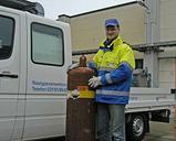 News: Air Liquide: 250.000ste Gasflasche in Krefelder Restgasverwertung sicher verwertet