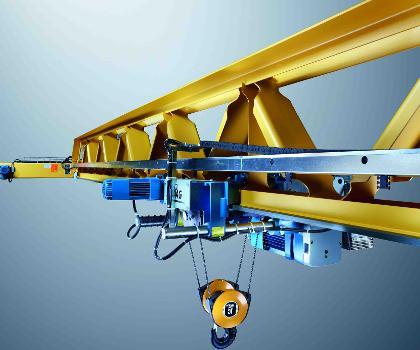 Demag spart beim gewicht des profilkrans v wie vorteil - Terex material handling port solutions ag ...