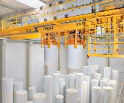 Demag-Prozesskran Papierfabrik