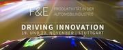 Fachtagung: Driving Innovation: F&E-Produktivität in der Automobilindustrie