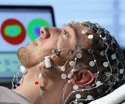 EEG-Messung (Copyright: Forschungszentrum Jülich)