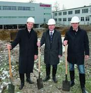 News: Euchner: Spatenstich für neues Produktiongebäude