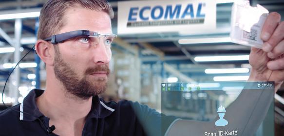 Ecomal-Datenbrille