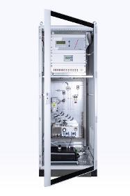 Gasanalysensystem zur Emissionsüberwachung von Bühler Technologies.