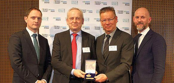 Übergabe des European Business Awards in Berlin