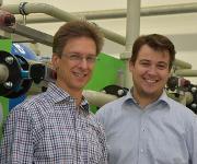 Dr.-Ing. Fernando Gehre (links) und Lutz Bohmerich