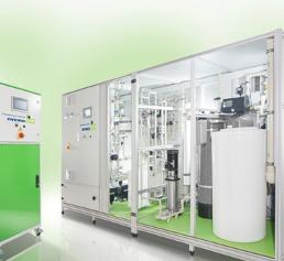 Wasseraufbereitungsanlage von Envirofalk