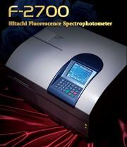 Uwe Binninger Analytik: HITACHI F-2700 - Das Fluoreszenz-Spektralphotometer für alle Fälle