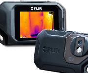 Kompakt-Wärmebildkamera FLIR C2