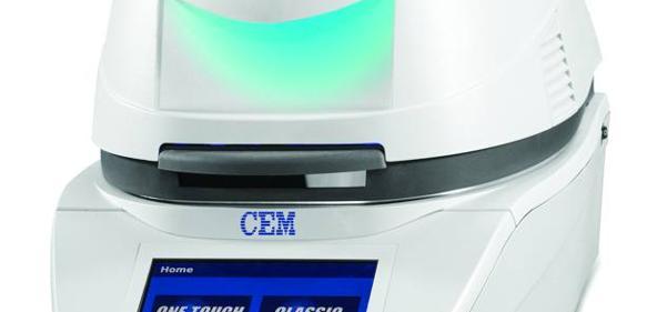 Feuchte-/Feststoff-Analysensystem