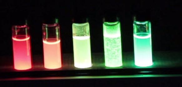 Nanokristalle von Qlight Nanotech