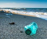 Plastik am Strand