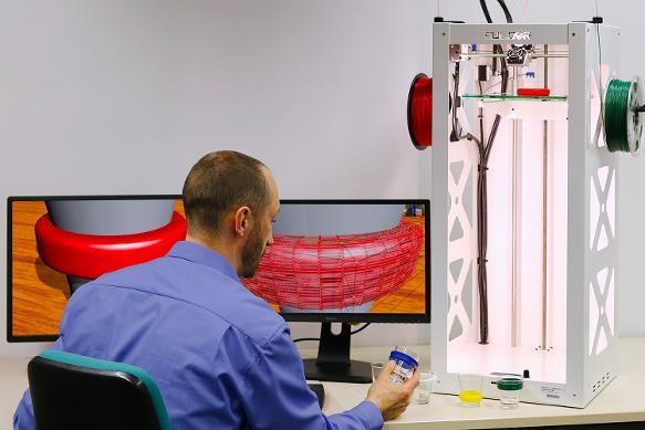 Simulation: Individuelles Design und fotorealistischer 3D-Farbdruck
