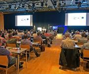 180 Fachleute aus verschiedenen Unternehmensbereichen interessierten sich für neue Entwicklungen der 3D Messtechnik. (Bild: GOM)