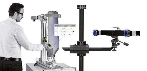 Bauteilprüfung mit der Aramis 3D-Camera