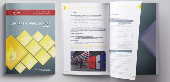 Mit der Neuauflage der Gefahrstoffbroschüre bietet der Sicherheitstechnik-Spezialist asecos wieder ein komprimiertes Handbuch für Gefahrstofflagerung auf dem aktuellsten Stand von Technik und Gesetzgebung.