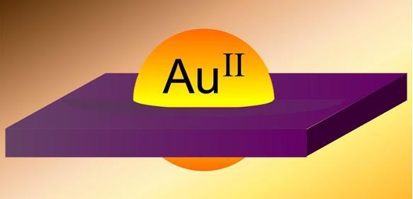 Gold in äußerst seltener Oxidationsstufe: Erstmals zweiwertiges Gold isoliert und charakterisiert