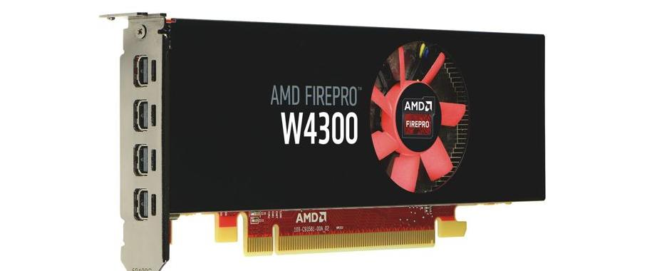 Grafikkarte FirePro W4300