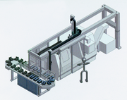 Industrieroboter: Thema: Verkettung